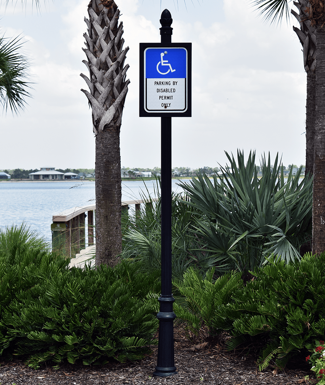 Historic Collection Florida Handicapped Parking Sign FTP-20-06