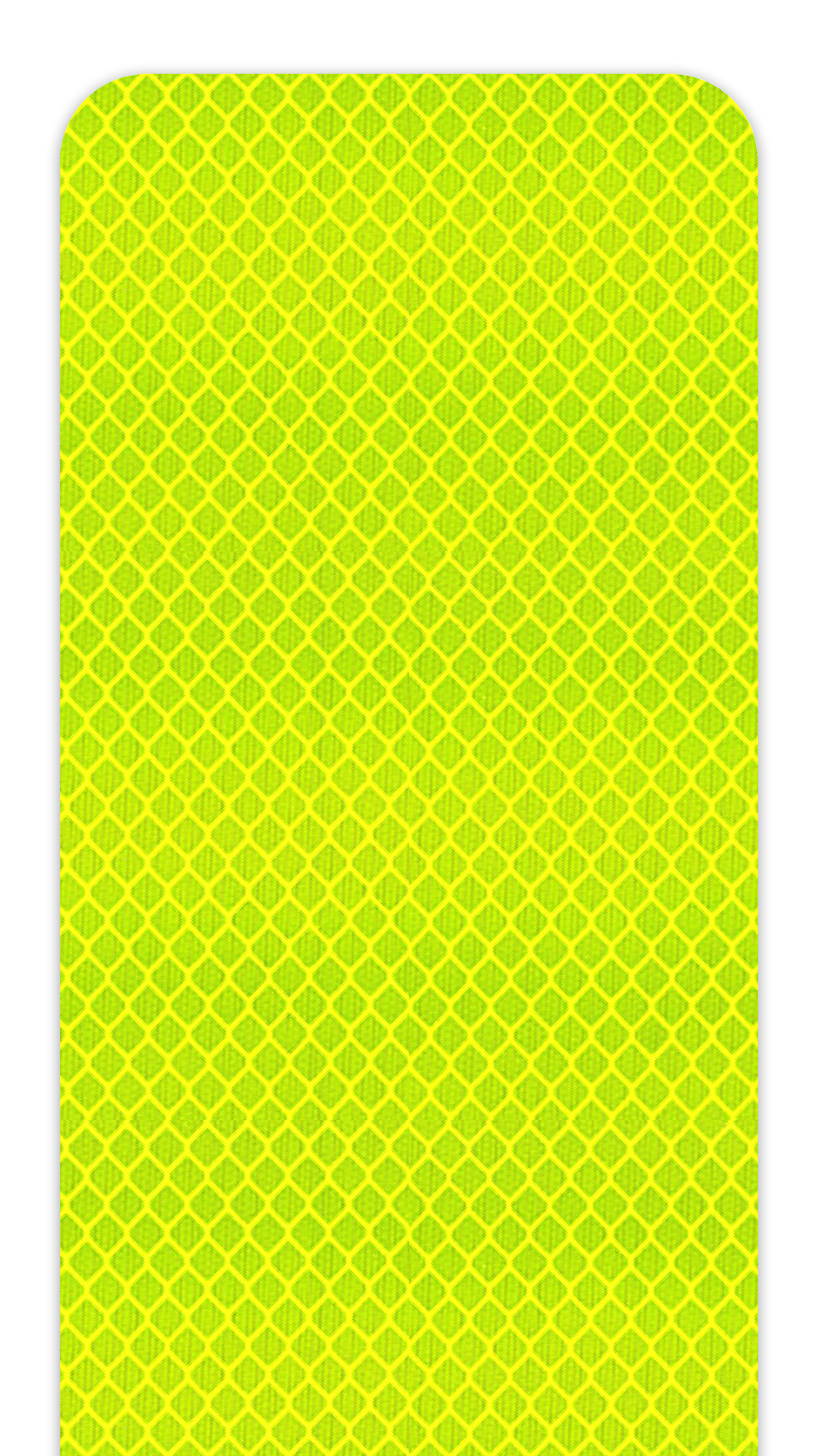 3M™ 3983 Series Fluorescent Yellow Green Diamond Grade Prismatic Sheeting