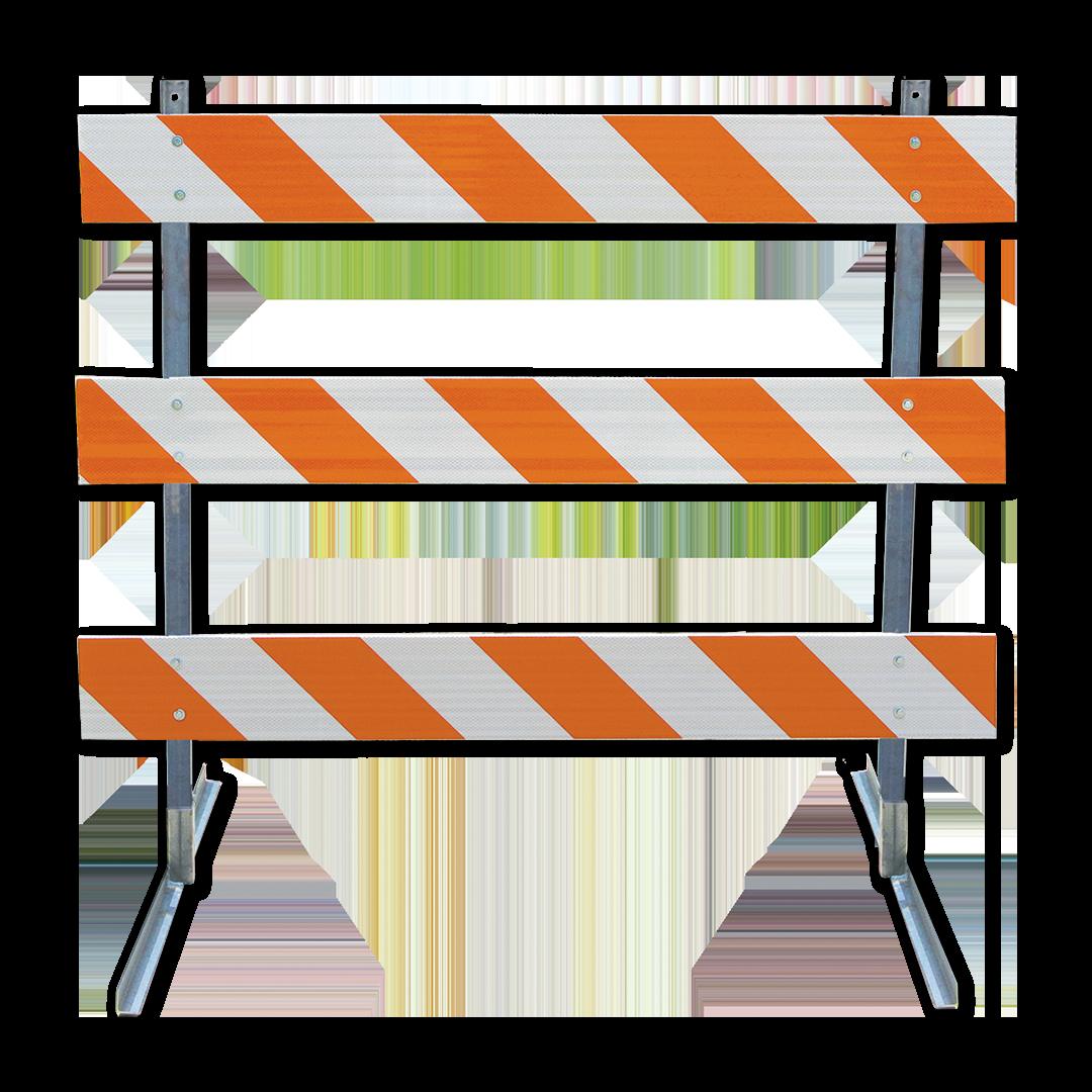 Plasticade® Angle Iron Type III Barricade