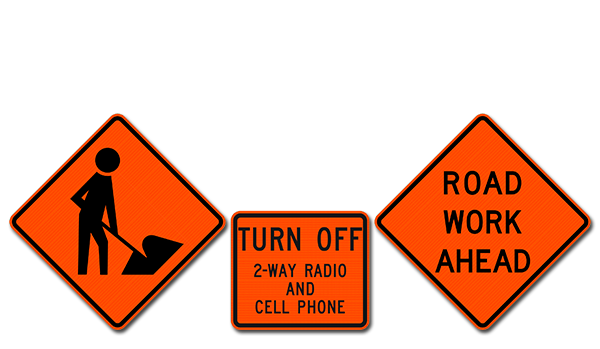 National Traffic Signs Construction Signs