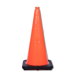 "JBC Safety Plastic 28"" Orange Traffic Cone"