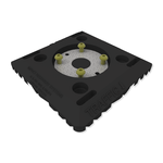 "8""x8"" Surface Mount Quick Release Base"
