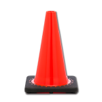 "JBC Safety Plastic 12"" Orange Traffic Cone"