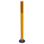 "36"" Yellow Flexstake SM 700 Surface Mount Delineator"