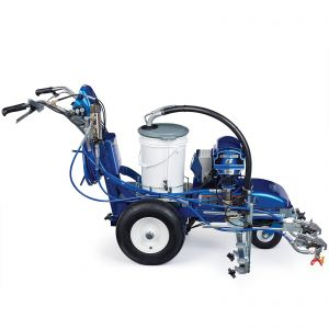 LineLazer V ES 2000 (25N550) Standard Series Electric Battery-Powered Airless Line Striper, 2 Manual Guns Right Side View