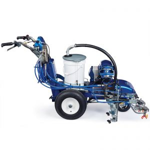 LineLazer V ES 2000 (25N559) HP Automatic Series Electric Battery-Operated Airless Line Striper, 1 Auto Gun, 1 Manual Gun, LazerGuide 2000 Right Side View