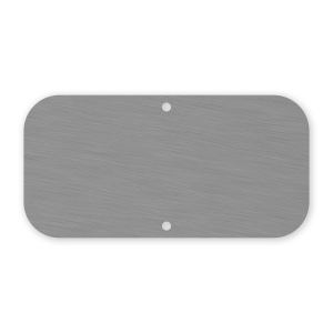 "12""x6"" Mill Finish Sign Blank"