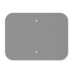 "12""x9"" Mill Finish Sign Blank"