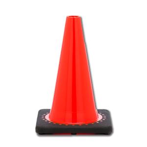 "JBC Safety Plastic 12"" Orange Traffic Cone"