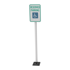 "Impact Recovery Systems Sta-Rite 78"" Sign Post Without Bollard Main Image"
