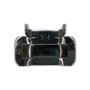 "3/4"" 201 Stainless Steel Strapping Buckle Main View"