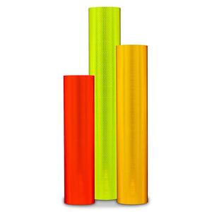 "18"" Roll of 3M™ Diamond Grade™ DG3 Fluorescent Reflective Sheeting Series 4080 Main View"