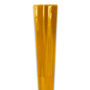 """36"""" Yellow Flexstake SM 700 Surface Mount Delineator Yellow Close up"""