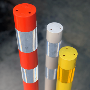 Impact Recovery Systems OmegaPost High Speed, High Performance Delineator Post Color Options