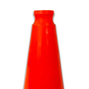 JBC Safety Plastic Orange Traffic Cone Indented Handle