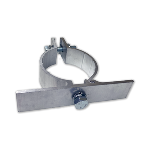 "Single Side Clamp for 2 3/8"" OD Round Post"