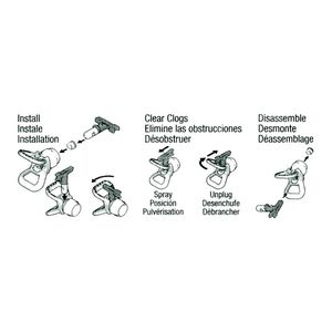 Graco RAC 5 One Seal Installation Instructions
