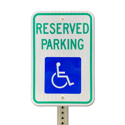 3M™ 3430 Series Reserved Parking Sign