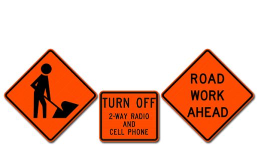 Construction and Work Zone Signs