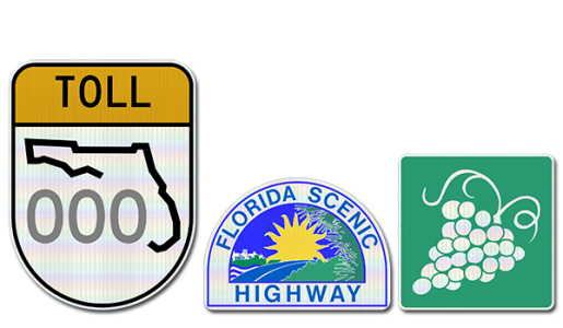 Florida Specific (F.D.O.T.) Signs
