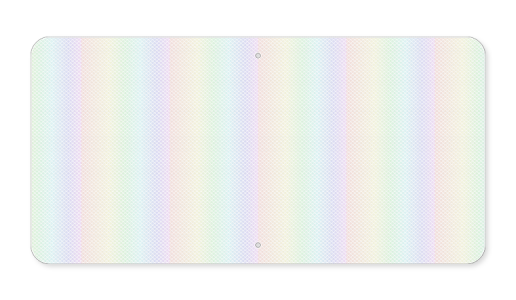Horizontal Rectangles Aluminum Blanks