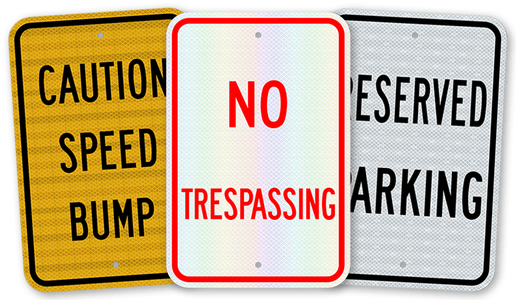 National Traffic Sign Standard Parking Signs