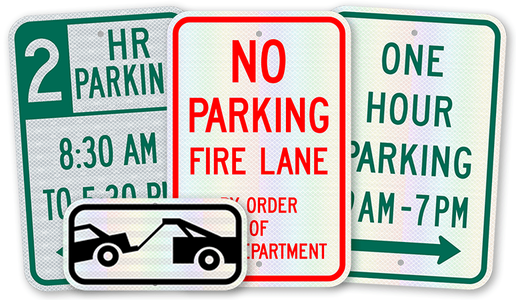 Regulatory Parking Signs