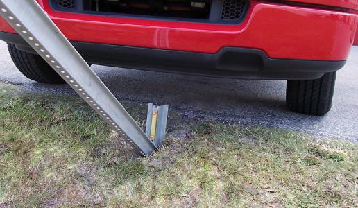 Sign Post Breakaway Hardware