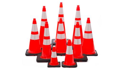 JBC™ Revolution Series Orange Cones